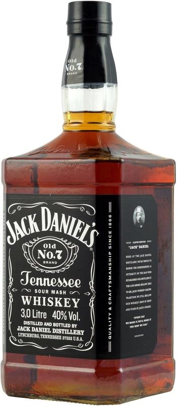 Jack Daniels 3 Liter Partyflasche mehr als 20 Großflaschen