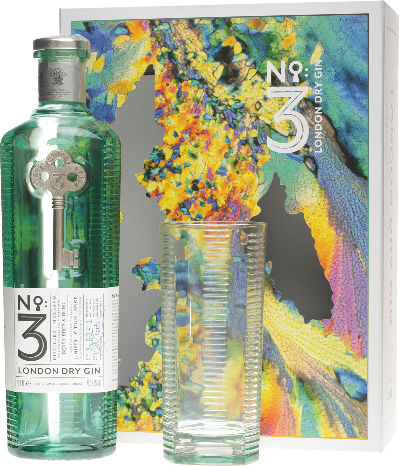 no 3 london dry gin mit gratisglas g nstig im spirituosen online shop. Black Bedroom Furniture Sets. Home Design Ideas