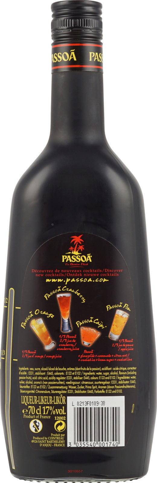 passoa lik r als passionsfruchtlik r zum sehr g nstigen. Black Bedroom Furniture Sets. Home Design Ideas