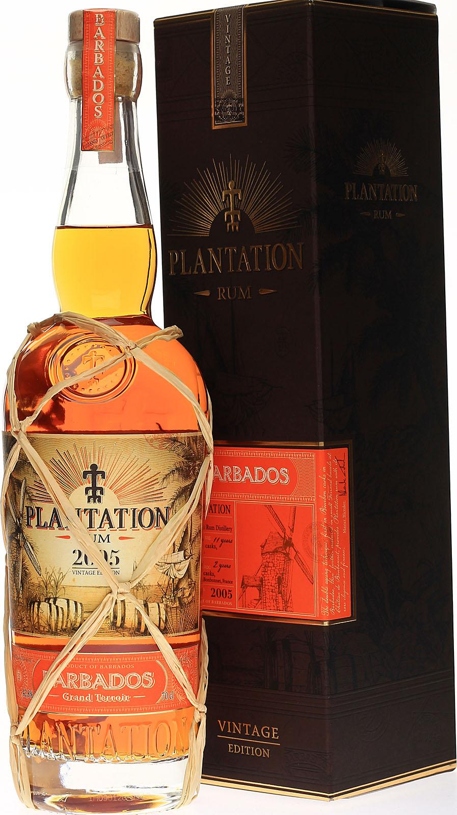 Plantation Barbados 2005 Vintage Edition, Rum aus der ...