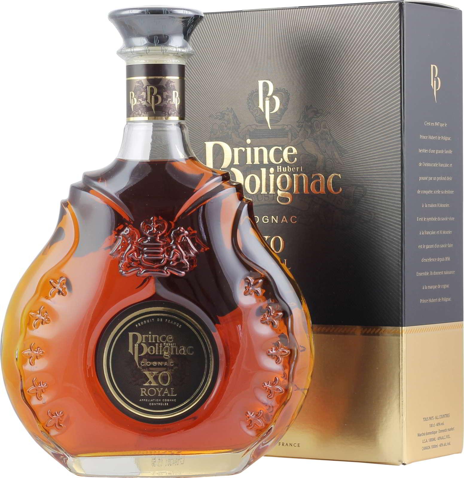 Polignac Cognac XO Royal GP 1 Liter 40 % Vol.