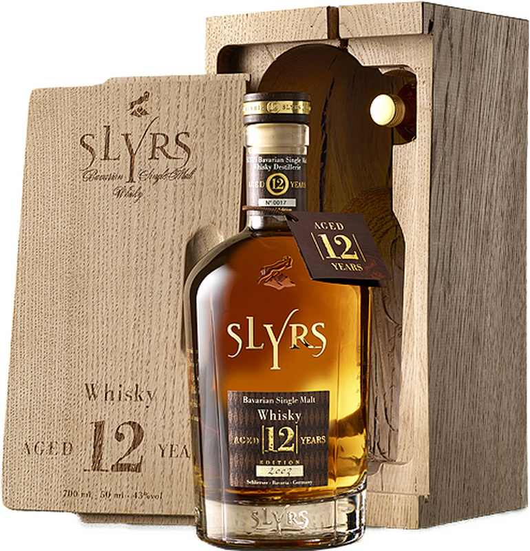 Slyrs Bavarian Single Malt Whisky 12 Jahre 2003 700ml 43%