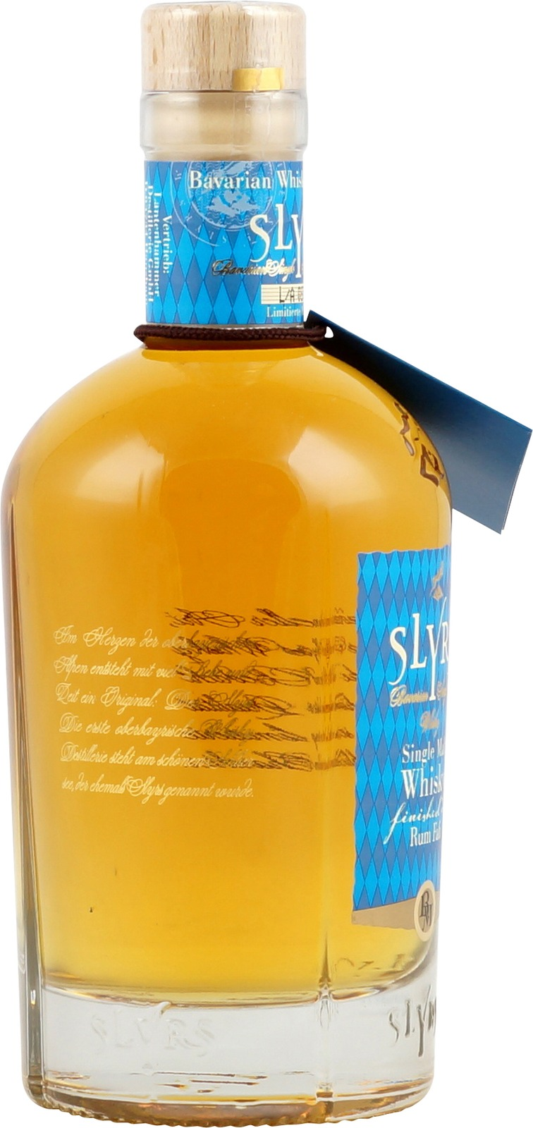 Slyrs bavarian single malt whiskey