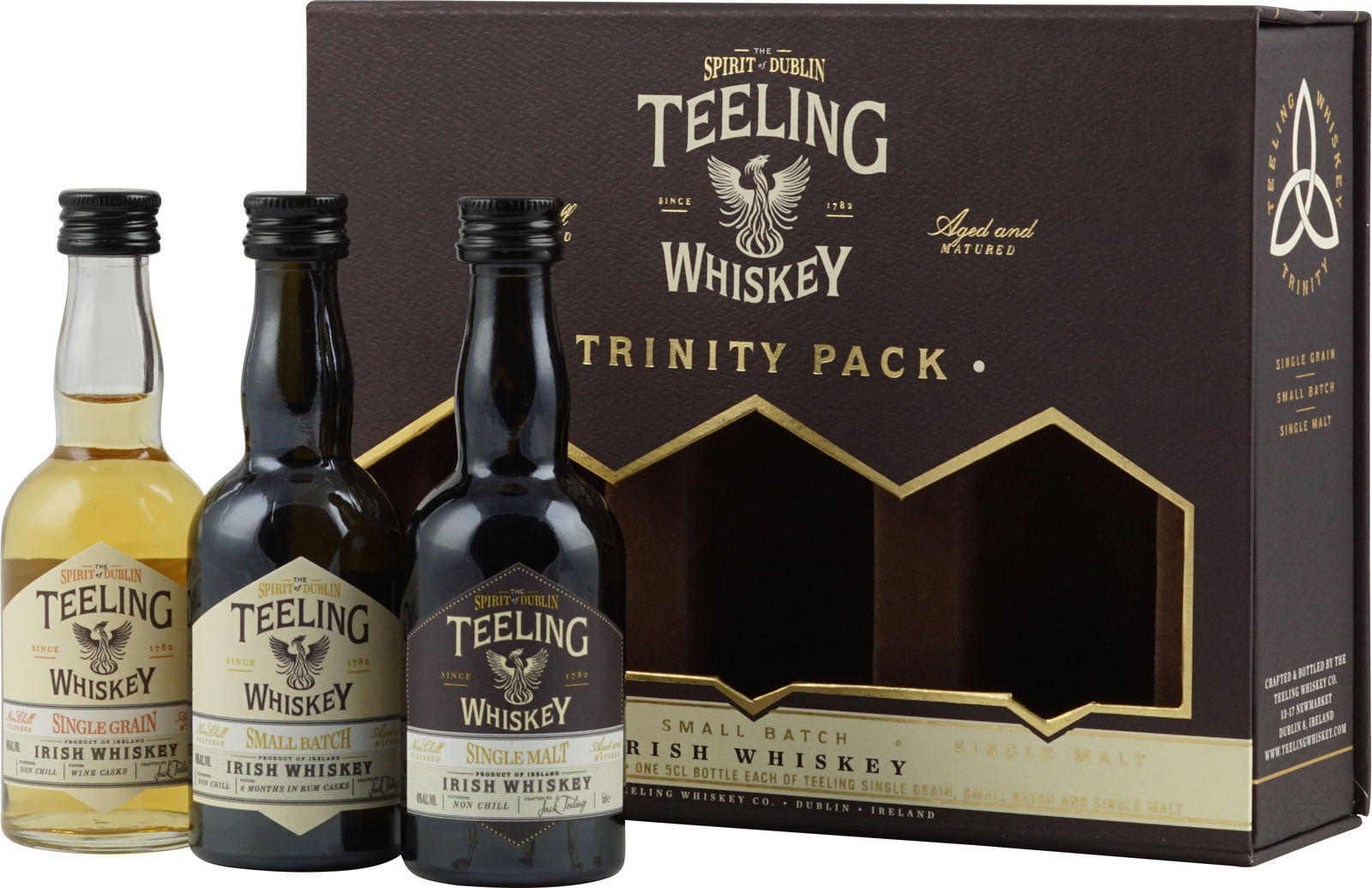 Image result for teeling whiskey trinity pack